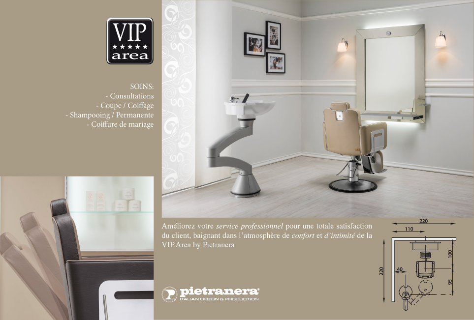 Vip area salons pietranera srl mobilier et mat riel - Salon de coiffure vip ...