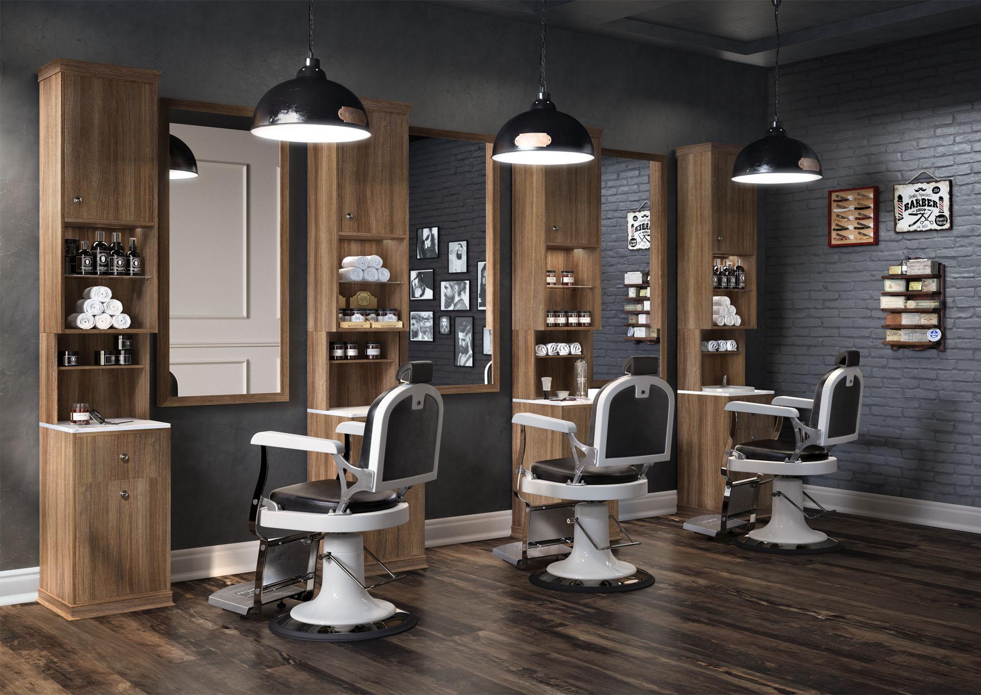Beautiful Mobilier Salon De Coiffure Italien